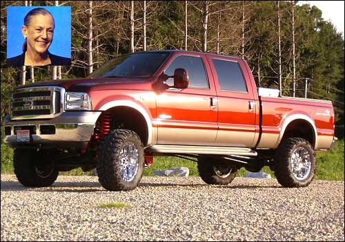 Alice Walton's 2006 Ford F-150 King Ranch