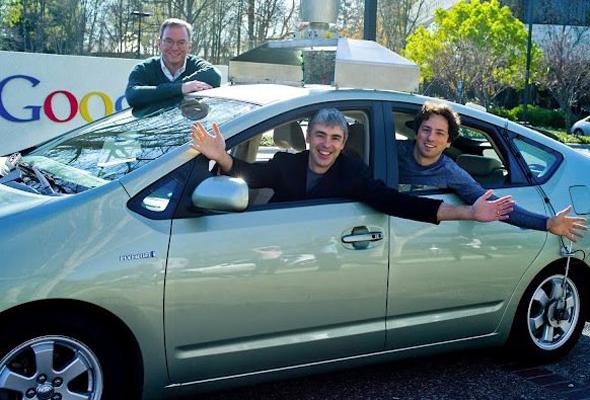 Eric Schmidt's Toyota Prius