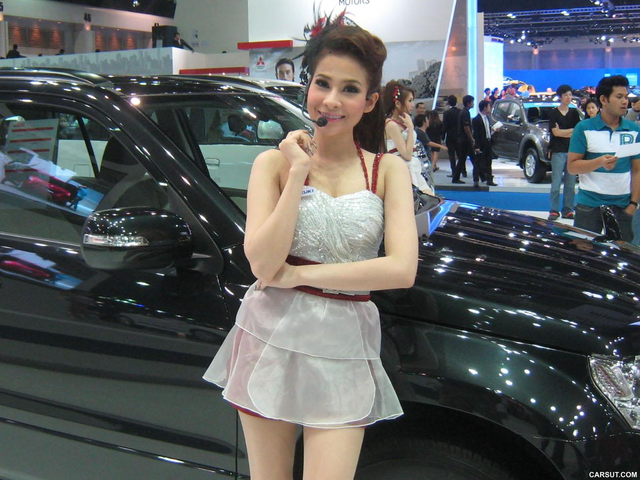 Girls from Bangkok Motor Show