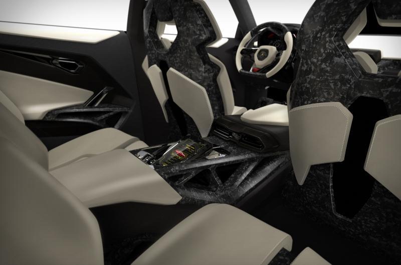 Lamborghini Urus Concept Rear Seats