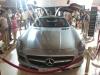 Silver Mercedes-Benz SLS AMG