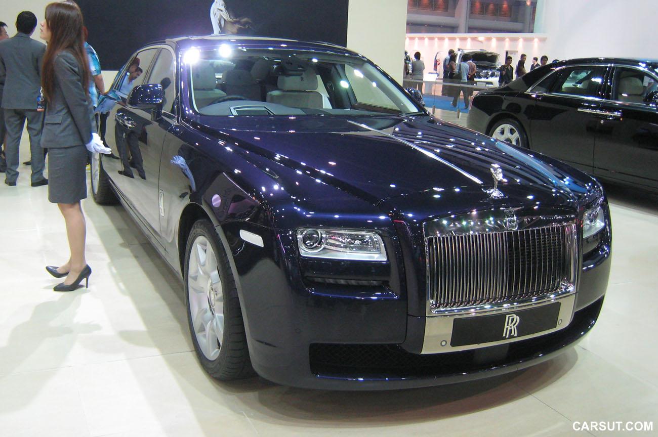 Rolls-Royce Ghost in Metropolitan Blue
