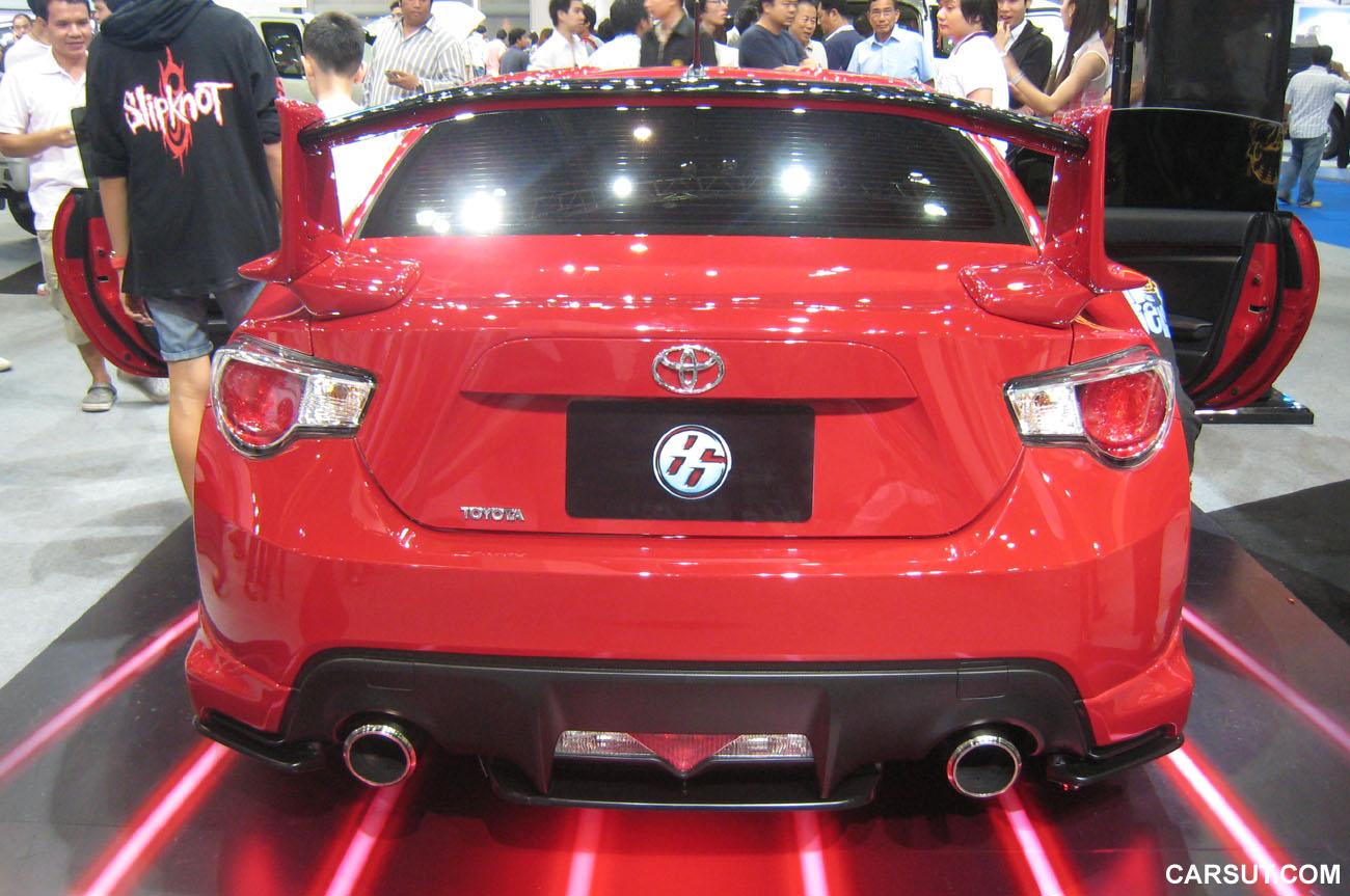 Toyota 86 Rear View